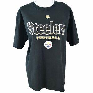 Pittsburgh Steelers Football Women's T-Shirt SZ-M